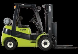 Gen2 LPG/Duel Fuel Clark Pneumatic Forklift C 25-35 Series