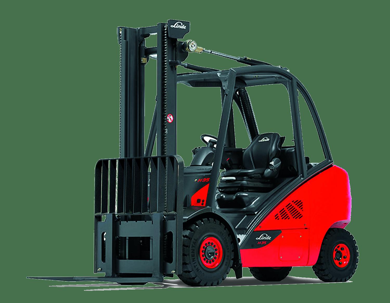 Linde 393 Hydrostatic Forklift
