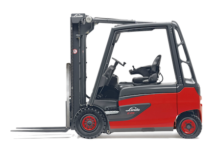 Pneumatic Linde 387 Series Electric Forklift
