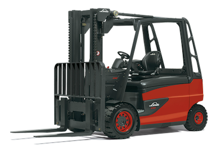 Linde 388 Series Electric Pneumatic Forklift