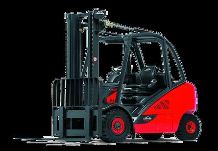 Linde 393 Series Hydrostatic Forklift