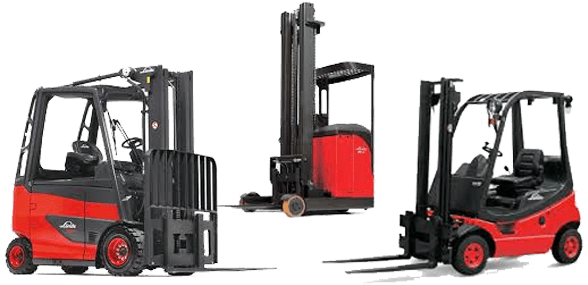 Linde forklifts from Lift Atlanta